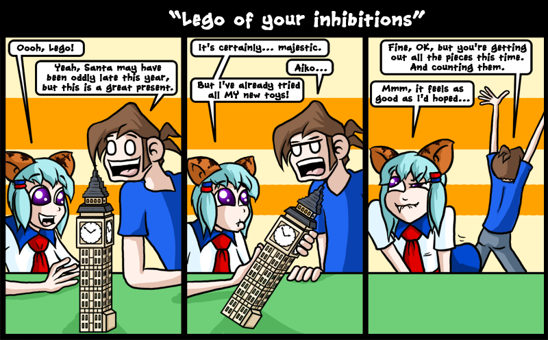 Lego of your inhibitions